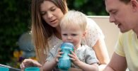 Botellas de agua para bebés
