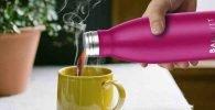 Botellas térmicas. botella de agua térmica. Laken