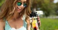Botella infusora de frutas