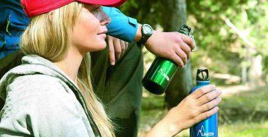 Botellas de aluminio para agua