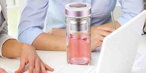 botella infusora de te