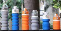 Botellas de silicona