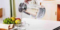 Jarras de agua de cristal, jarra de agua filtradora