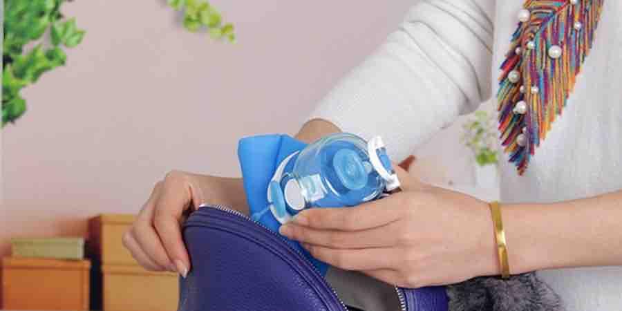 botellas de agua silicona