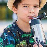botellas de acero inoxidable de agua para niños
