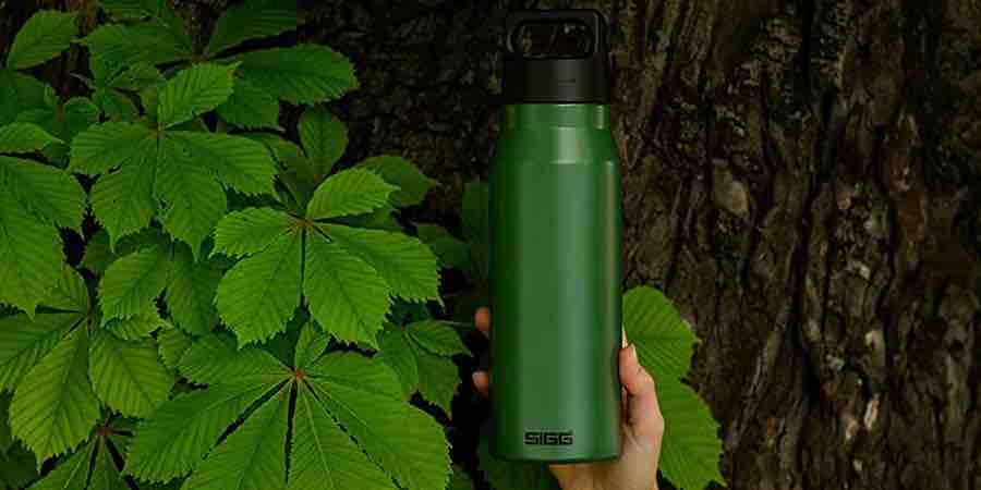 Botellas SIGG respetuosas con el medio ambiente y 100% reciclables