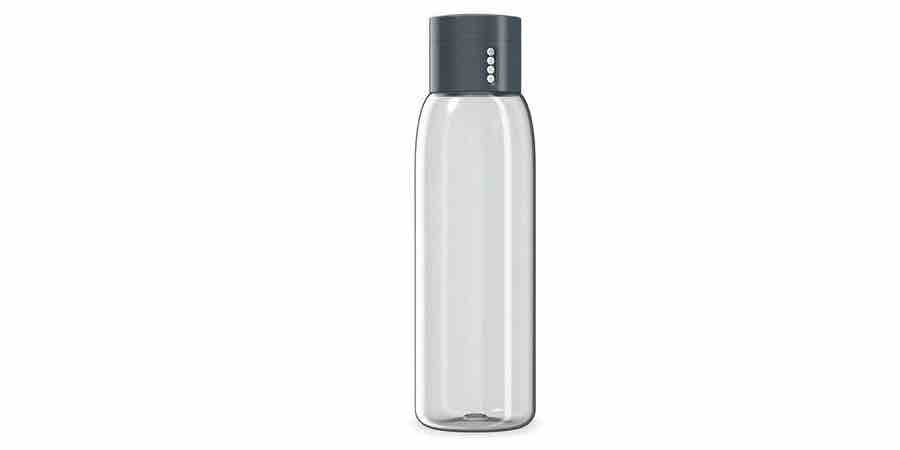 Comprar botella gris de plástico tritan en Amazon