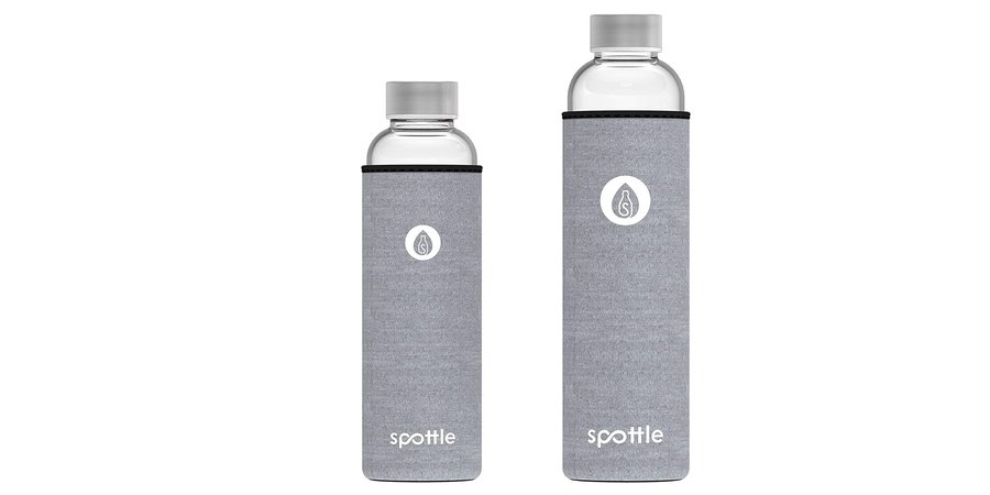 Comprar botella de agua reutilizable Spottle en Amazon